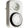 TIBELEC Programmateur journalier pour éclairage, électrovanne CO2, pompe, ...