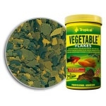 TROPICAL - Vegetable 1200ml nourriture végétale en flocons avec beta-glucan, orties et épinards