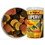 TROPICAL - Supervit Chips 250ml chips descendants à multi ingrédients pour poissons d'ornement
