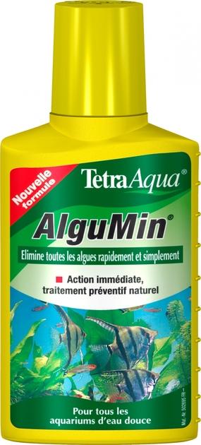tetra algumin 100 ml limine en toute simplicit tous les mauvaises algues de l 39 aquarium d 39 eau. Black Bedroom Furniture Sets. Home Design Ideas