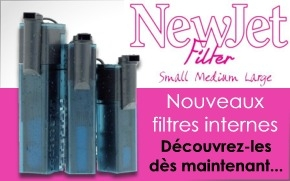 Nouveau filtre interne Aquarium Systems NewJet Filter
