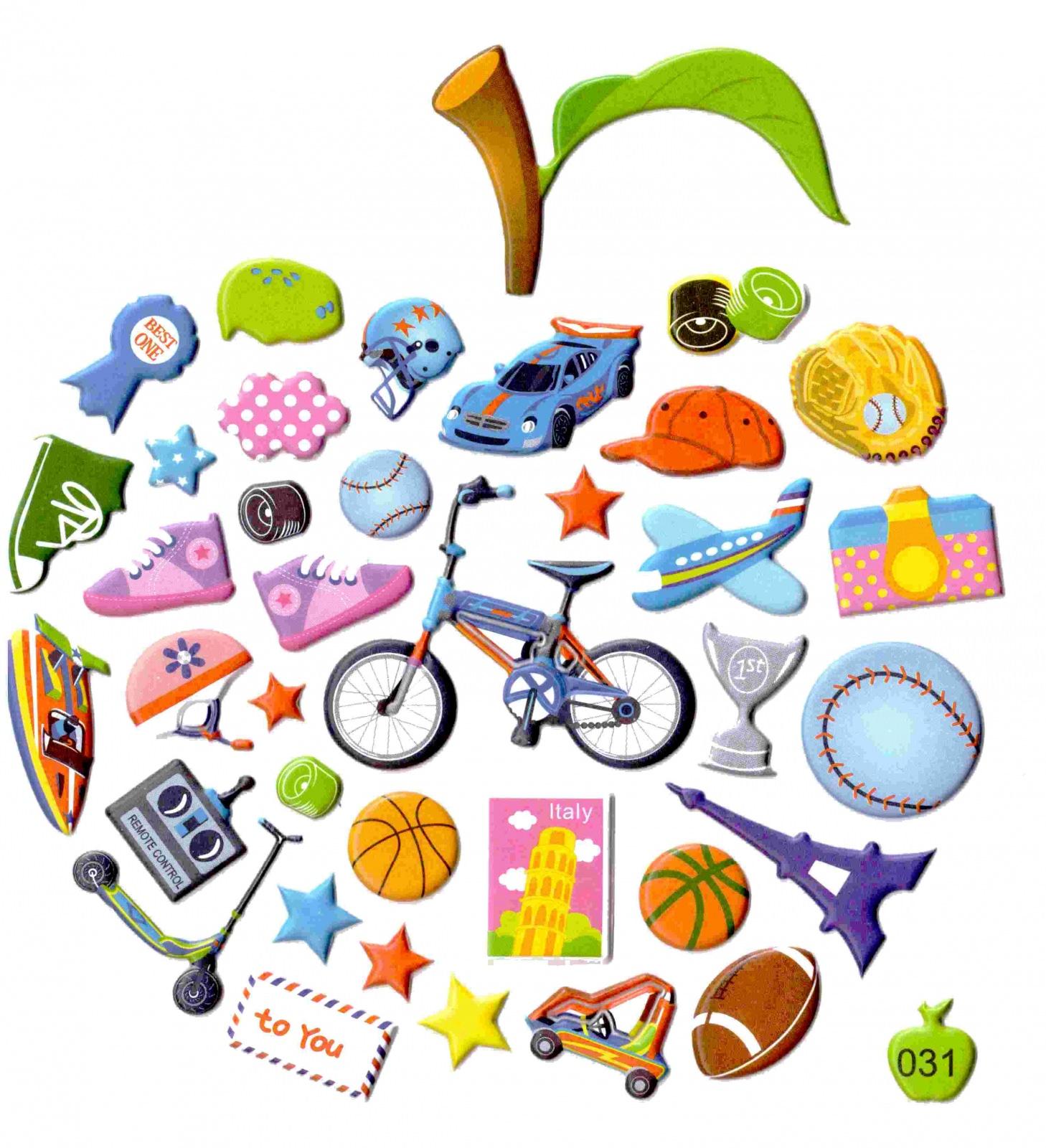 Gommette enfant loisirs et sports gommettes enfants inattendues et originales magommette - Loisirs creatifs pour enfants ...
