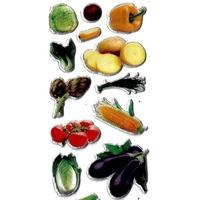 Gommettes Légumes  3D