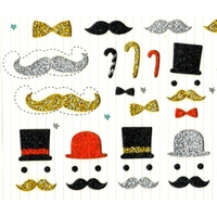 Stickers Petits Moustaches Chic
