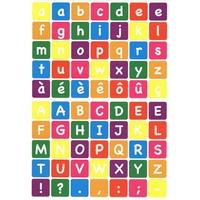 70 gommettes alphabet