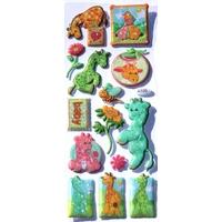 sticker 3D bebe girafe