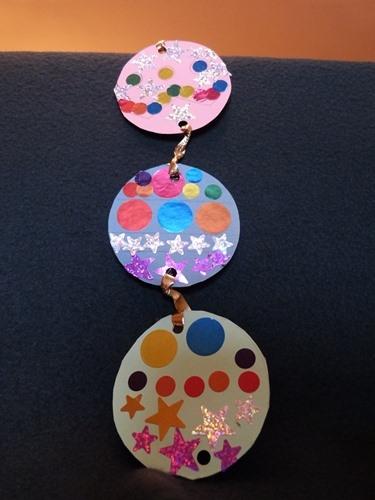 Decoration Maternelle Noel : Decoration noel enfant gommette maternelle