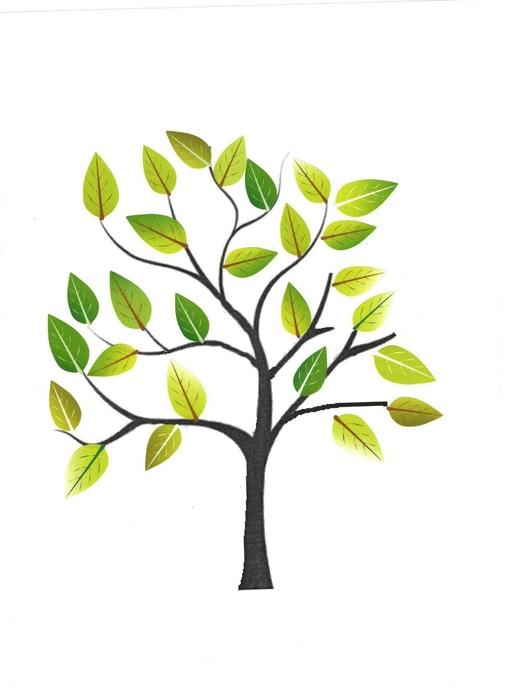 Collage de gommettes arbre imprimer mod les de dessins imprimer pour gommettes magommette - Bricolage d automne avec des feuilles d arbre ...