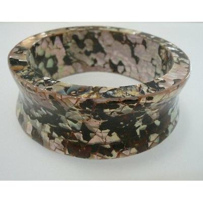 Bracelet nacre dor e mosa que - Mosaique doree ...
