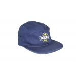 Casquette DATA Blason 5 panels navy