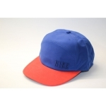 Casquette NIKE  suede snap back deep royal/red