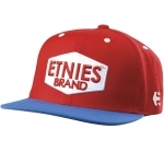 Casquette ETNIES brand it red
