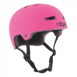 Casque TSG Evolution flat pink XXS
