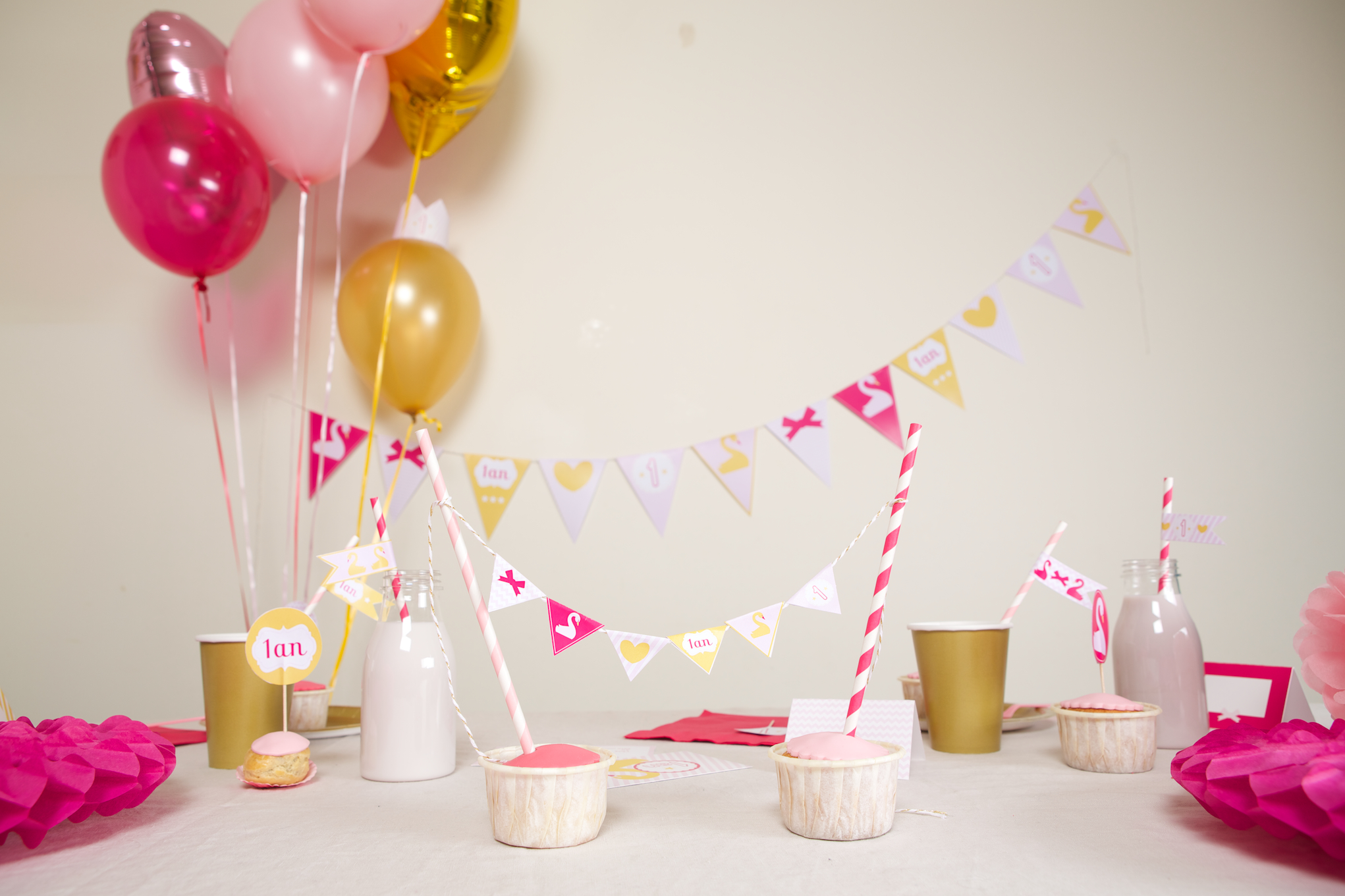 Decoration Anniversaire Fille Bebe