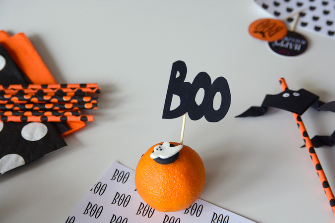 Idee halloween diy d co facile a faire soi meme fait - Deco de table halloween a faire soi meme ...