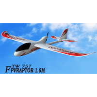 Avion planeur RC –TW 757 – Envergure 1.60 m – 6 voies 2,4 Ghz -Brushless