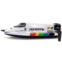 "Bateau RC Racing Boot ""Pioneer"" super rapide – avec batterie Lipo"