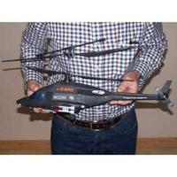 AirWolf  Hélicoptère Radiocommandé 4 canaux avec batterie Li-Po