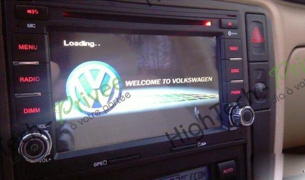 autoradio gps dvd volkswagen golf 4 mains libres dvd ecran tactile hightech privee. Black Bedroom Furniture Sets. Home Design Ideas