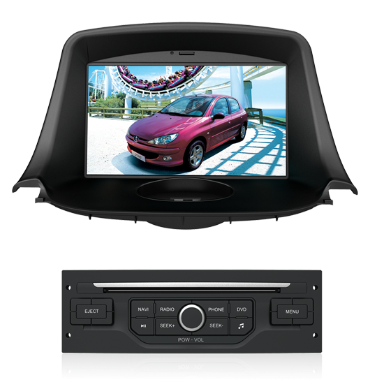 autoradio gps dvd peugeot ecran tactile dvd gps usb ipod bluetooth hightech privee. Black Bedroom Furniture Sets. Home Design Ideas