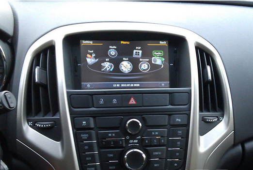 comment demonter autoradio opel astra j