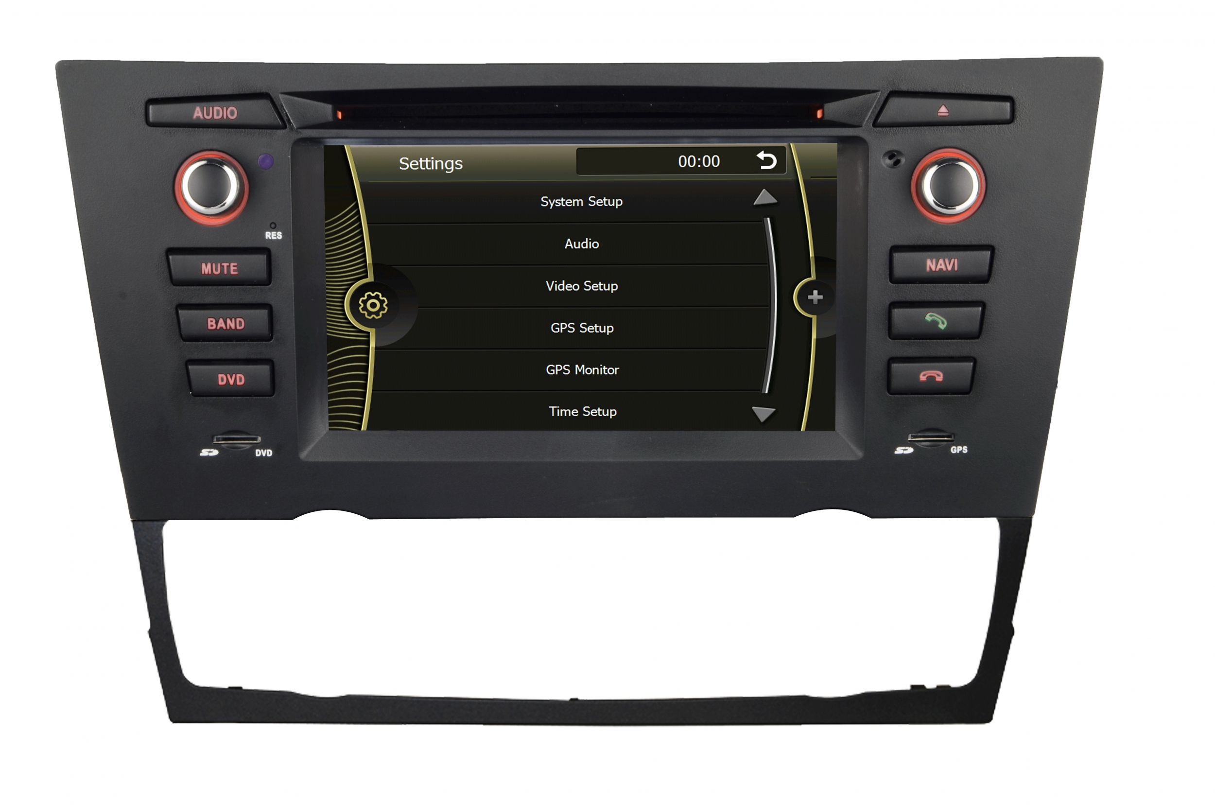 autoradio gps bmw s rie 3 2005 2012 dvd cran tactile usb bluetooth ebay. Black Bedroom Furniture Sets. Home Design Ideas