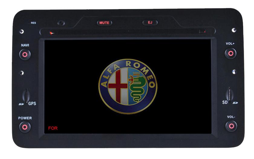 autoradio gps alfa romeo 159 spider brera ecran tactile dvd hightech. Black Bedroom Furniture Sets. Home Design Ideas