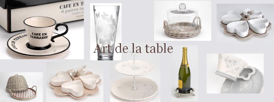 Art de la table valbonne