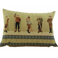 Coussin skieurs pm
