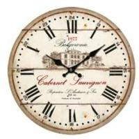 """Horloge """" Cabernet Sauvignon"""""""
