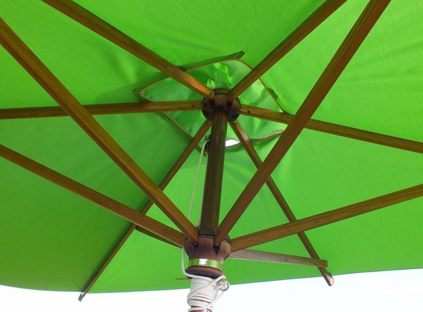 parasol bois rectangulaire 3x2m parasol bois. Black Bedroom Furniture Sets. Home Design Ideas