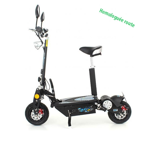 trottinette lectrique sxt scooter 1000xl eec homologu e route trottinette electrique. Black Bedroom Furniture Sets. Home Design Ideas