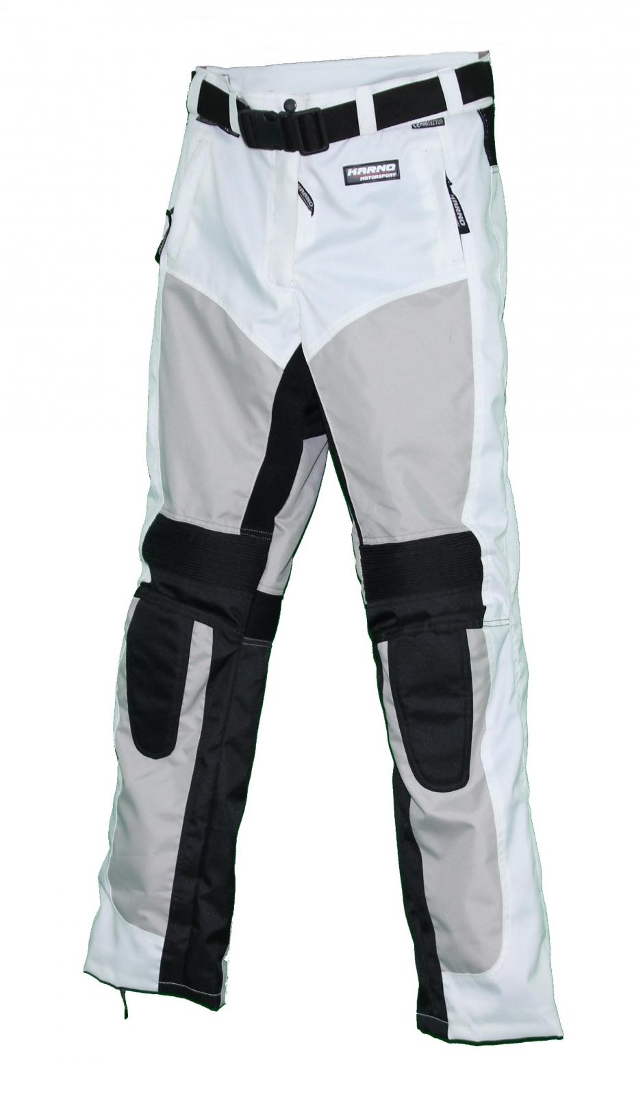 kt304 pantalon moto textile femme blanc karno white pearl pantalon pantalon moto femme. Black Bedroom Furniture Sets. Home Design Ideas