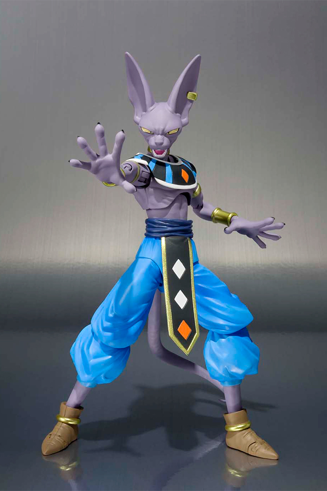 preco figurine dragon ball z s h figuarts beerus 17cm banda ebay. Black Bedroom Furniture Sets. Home Design Ideas