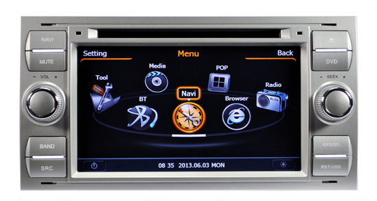 autoradio gps kuga c max mondeo s max focus. Black Bedroom Furniture Sets. Home Design Ideas