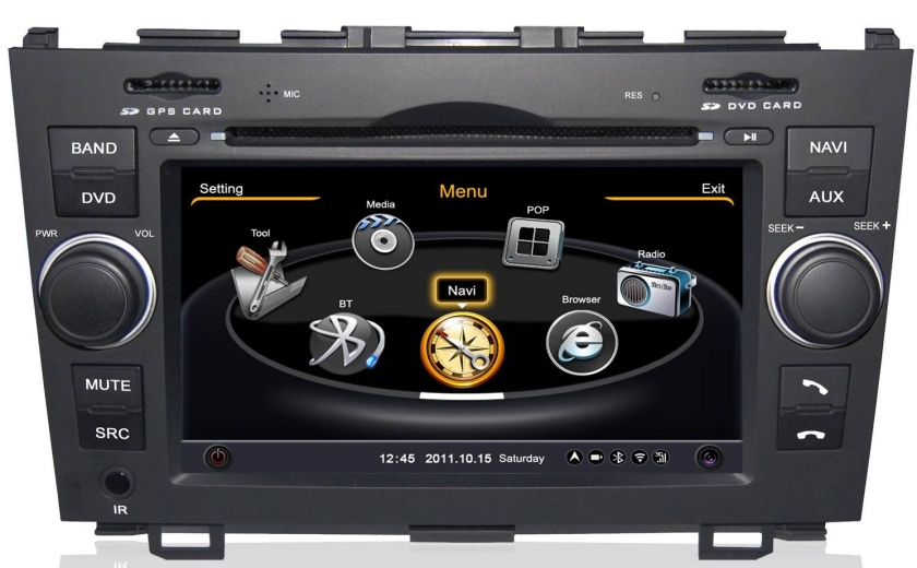 autoradio gps honda cr v avant 2012 bluetooth int gration iphone autoradios gps. Black Bedroom Furniture Sets. Home Design Ideas
