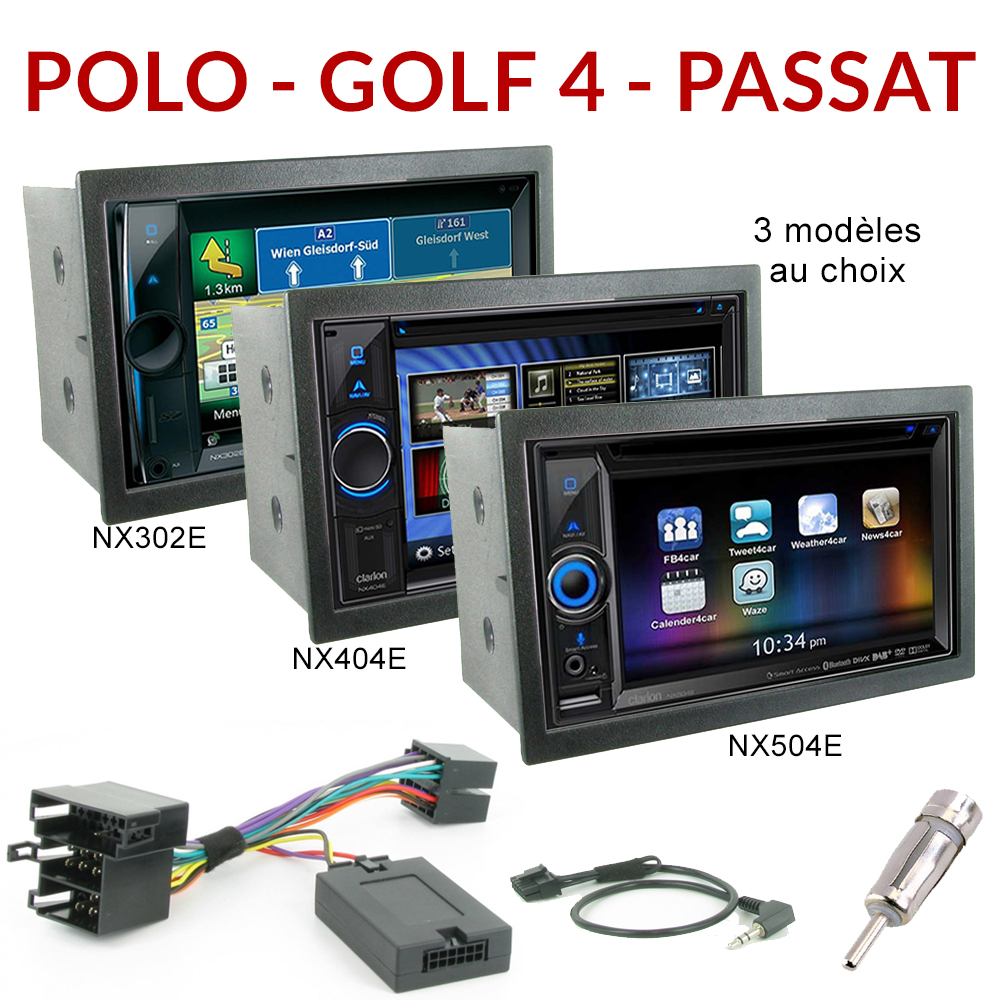 autoradio gps volkswagen golf 4 lupo passat poste. Black Bedroom Furniture Sets. Home Design Ideas