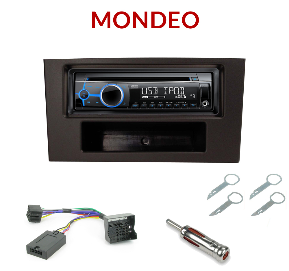 autoradio 1 din ford mondeo poste cd usb mp3 wma clarion ford autoradios. Black Bedroom Furniture Sets. Home Design Ideas