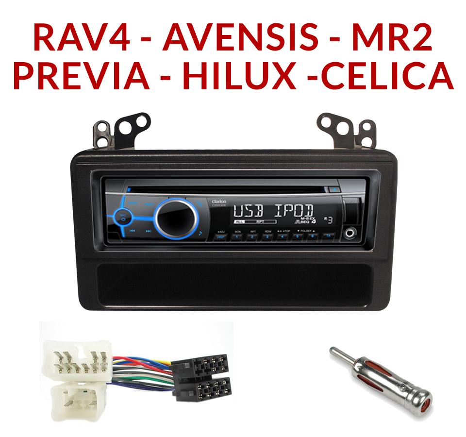 Cablage autoradio rav4
