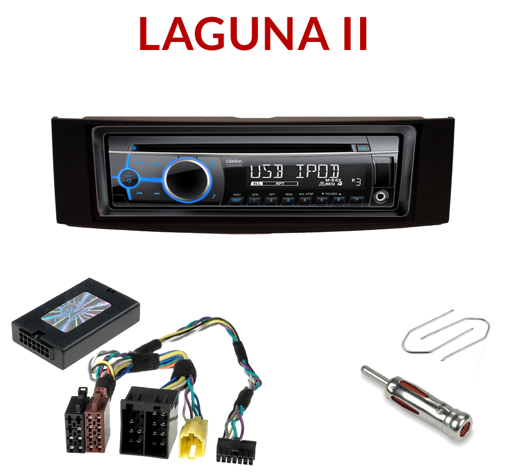 autoradio 1 din renault laguna 2 poste cd usb mp3 wma. Black Bedroom Furniture Sets. Home Design Ideas