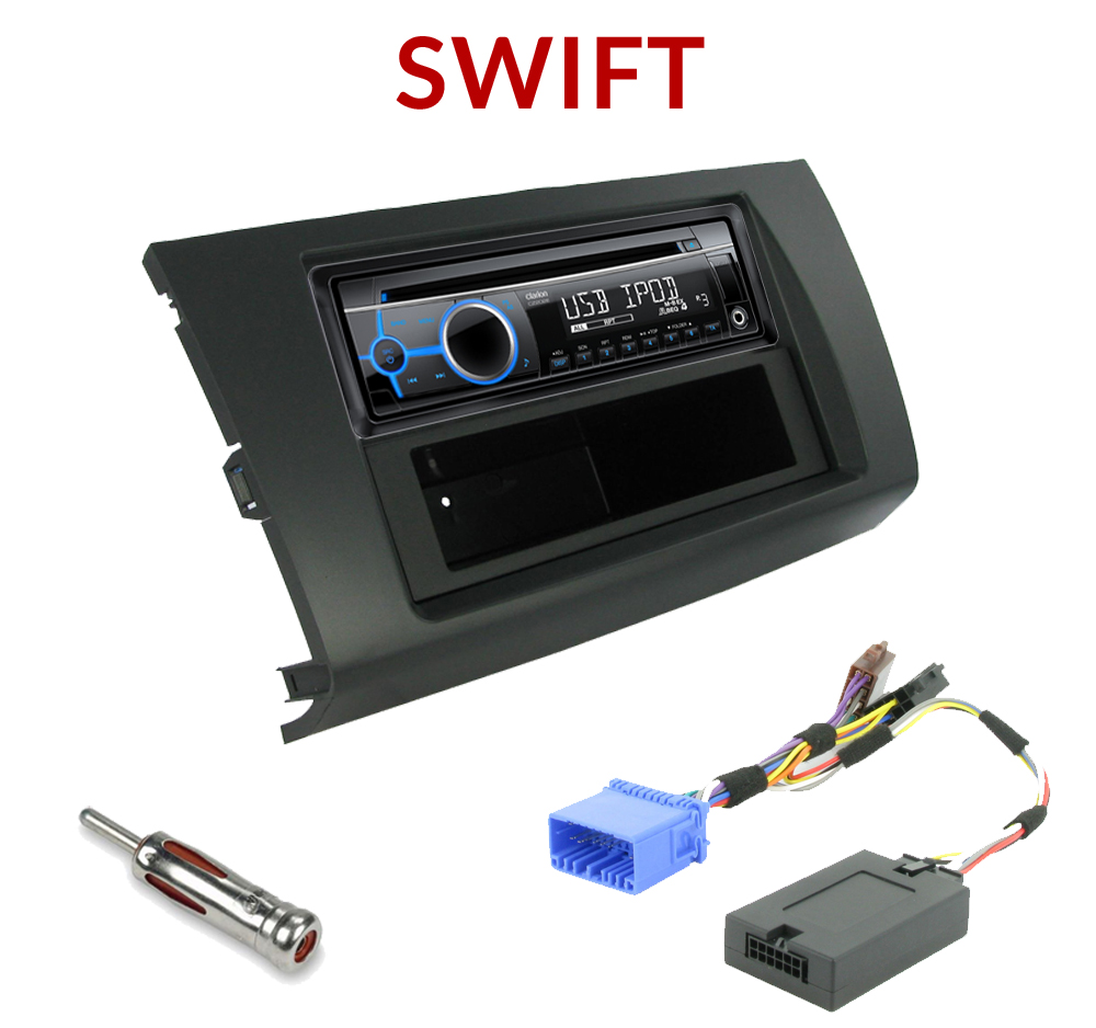 autoradio 1 din suzuki swift poste cd usb mp3 wma clarion suzuki autoradios. Black Bedroom Furniture Sets. Home Design Ideas