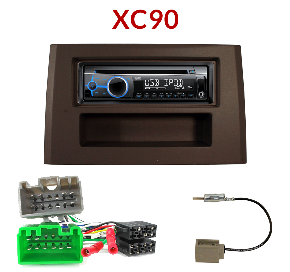 autoradio 1 din volvo xc90 poste cd usb mp3 wma clarion volvo autoradios. Black Bedroom Furniture Sets. Home Design Ideas