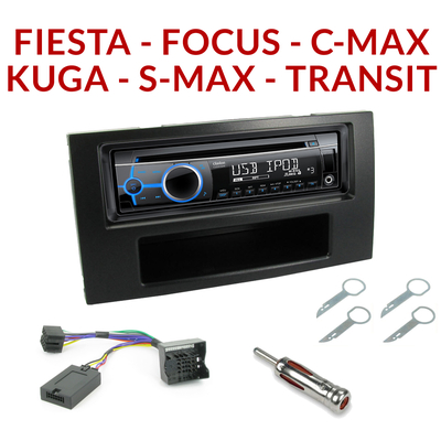 autoradio 1 din ford poste cd usb mp3 wma clarion ford autoradios. Black Bedroom Furniture Sets. Home Design Ideas