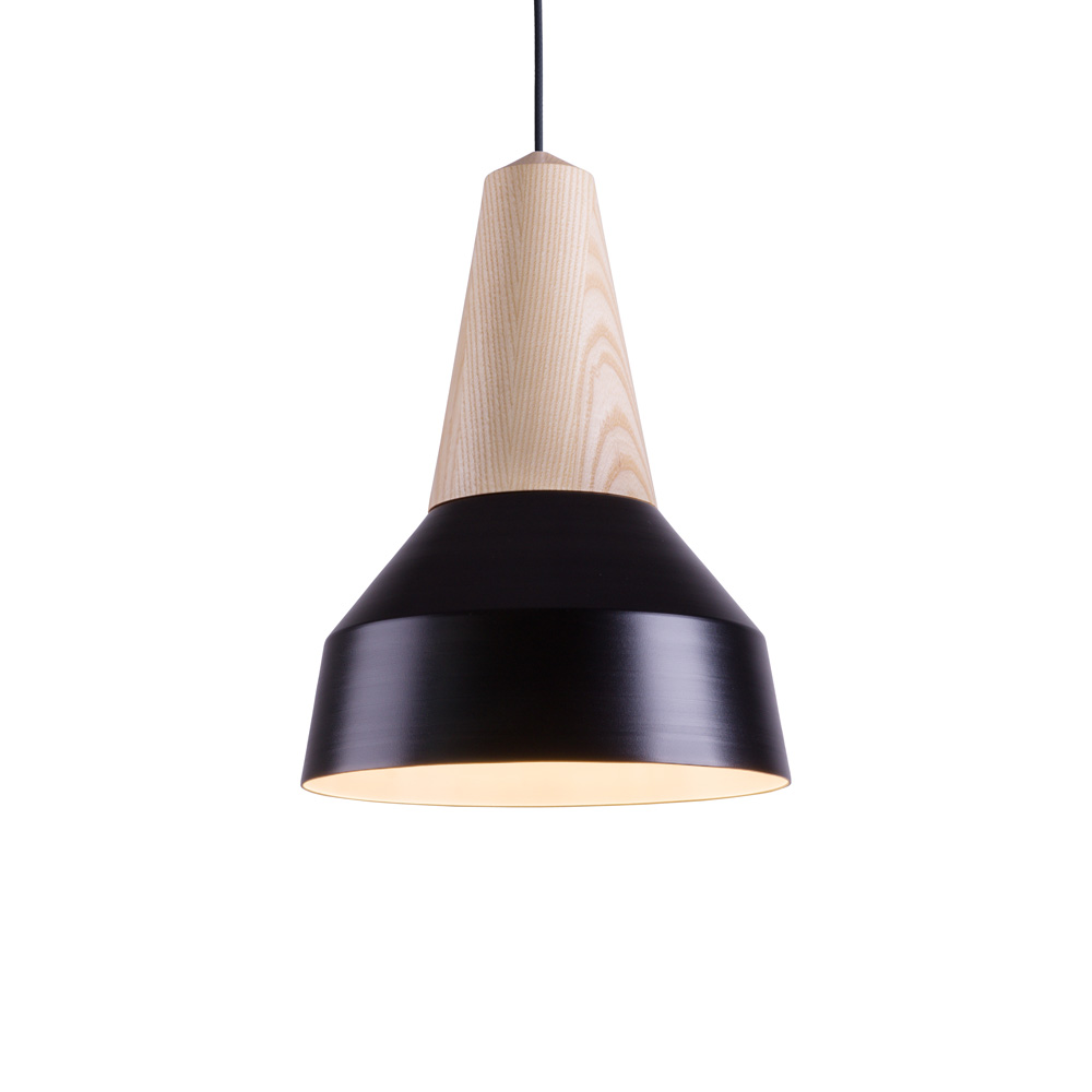 lampe suspension eikon m tal noir luminaire. Black Bedroom Furniture Sets. Home Design Ideas