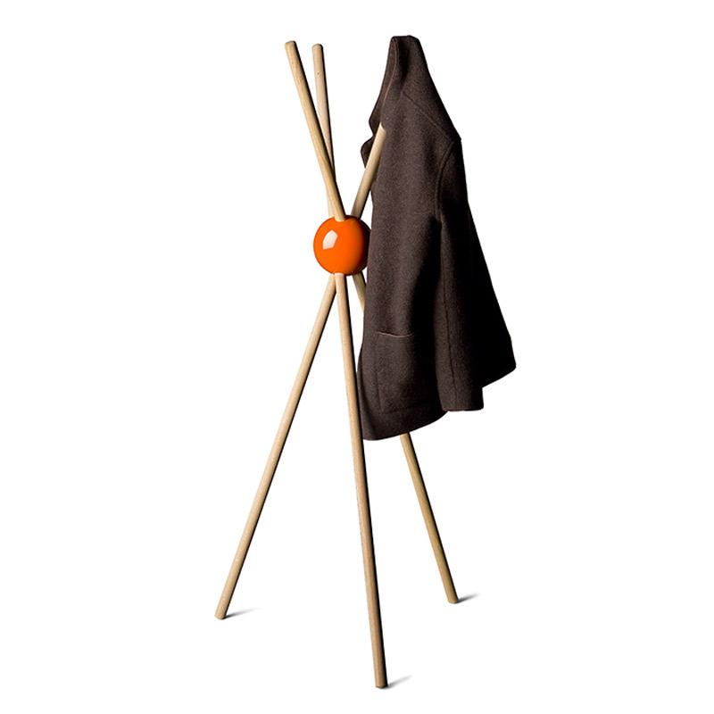 lock porte manteaux sur pied design orange design from paris. Black Bedroom Furniture Sets. Home Design Ideas
