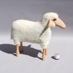 Mouton blanc - Tabouret - Hanns Peter Krafft
