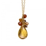 Collier Grappe Ocres | Seven
