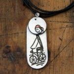 Collier à vélo