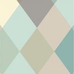 Lé de papier peint - D062013 - Nova pastel