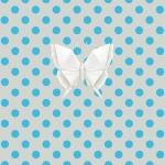 Lé de papier peint - 062013E - Origami